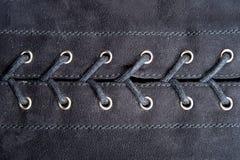 Lacing fabric royalty free stock photo