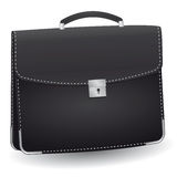 Lack briefcase royalty free illustration