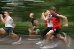 Lack-Läufer Stockfotografie