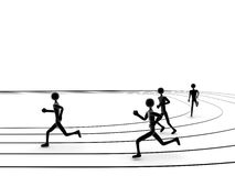 Lack-Läufer Stockfotos