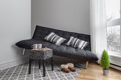 Lack of space in the living room royalty free stock images