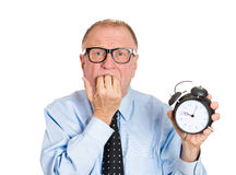 Lack of time Stock Photo