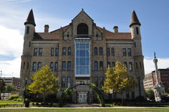 Lackawanna County domstolsbyggnad i Scranton, Pennsylvania royaltyfri fotografi