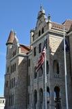 Lackawanna County domstolsbyggnad i Scranton, Pennsylvania royaltyfri foto