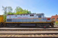 Lackawanna-Eisenbahn-Diesellokomotive, Scranton, PA, USA stockbild