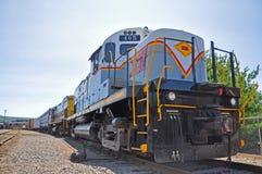 Lackawanna linii kolejowej dieslowska lokomotywa, Scranton, PA, usa zdjęcia stock