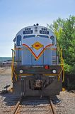 Lackawanna linii kolejowej dieslowska lokomotywa, Scranton, PA, usa obrazy stock