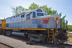 Lackawanna linii kolejowej dieslowska lokomotywa, Scranton, PA, usa zdjęcie stock