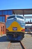 Lackawanna linii kolejowej dieslowska lokomotywa, Scranton, PA, usa obrazy royalty free