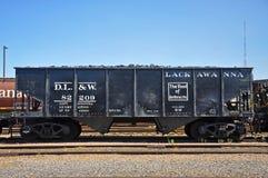 Lackawanna-Waggon, Scranton, PA, USA lizenzfreie stockfotografie