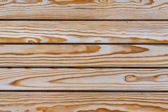 Lackierte Bretter mit natürlichem Muster, hölzerne Beschaffenheit Stockfotografie