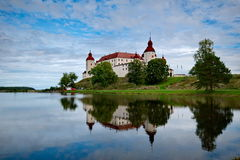 Lacko城堡 库存照片