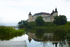 Lacko castle Royalty Free Stock Images