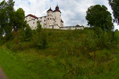 Lacko castle Stock Photography