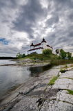 Lacko castle in Sweden Stock Image