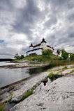 Lacko castle in Sweden. Europe royalty free stock images
