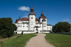 Lacko castle. In Sweden Stock Photos
