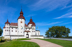 LACKO CASTLE, WEST GOTHLAND, SWEDEN. View of the front face of Lacko Castle, West Gothland, Sweden Royalty Free Stock Images