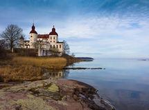 Lacko Schloss Stockfotografie