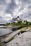 Lacko Schloss in Schweden lizenzfreie stockbilder