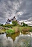 Lacko Schloss in Schweden Stockbild