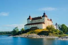 Lacko Slott,瑞典 图库摄影