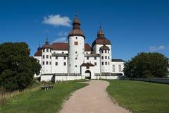 Lacko slott Arkivfoton