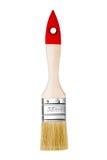 Lackpinsel getrennt auf einem weißen Hintergrund Lizenzfreie Stockfotografie