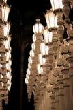 LACMA życia nocnego losu angeles wspaniali widoki zdjęcie royalty free