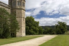 lacock аббатства стоковая фотография