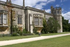 Lacock Abbey 2 stock photo