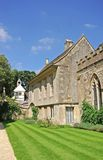 Lacock Abbey. View of the West side of Lacock Abbey Stock Photo