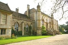 Lacock Abbey, Chippenham, Wiltshire, England Royalty Free Stock Photos