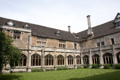 Lacock Abbey Cloister Royalty Free Stock Photography
