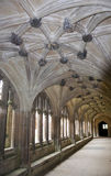 Lacock Abbey Cloister Royalty Free Stock Photos