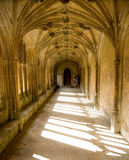Lacock Abbey cloisters, Lacock, UK Royalty Free Stock Photography