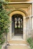 Lacock Abbey Doorway Fotografía de archivo