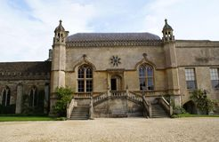 Lacock Abbey entrance in Wiltshire, England, Europe Royalty Free Stock Photos