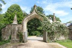 Lacock Abbey Gate Stockbilder