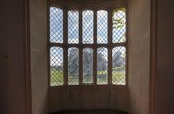Lacock Abbey Oriel Window Stock Photo