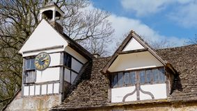 Lacock Abbey in Wiltshire, UK royalty free stock images