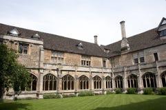 Lacock AbbeyCloister Royaltyfri Fotografi