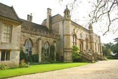 Lacock abbotskloster, Chippenham, Wiltshire, England Royaltyfria Foton