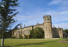 Lacock-Abtei in England Stockbild