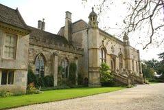 Lacock-Abtei, Wiltshire, England Lizenzfreie Stockfotos