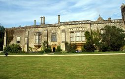 Lacock-Abtei in Wiltshire, England, Europa Lizenzfreie Stockfotos