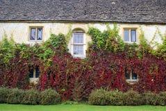 Lacock-Abteidetails in England Stockbild