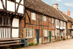 Lacock cottages Royalty Free Stock Photos