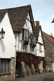 Lacock Village - Restaurant and hotel Stock Photography