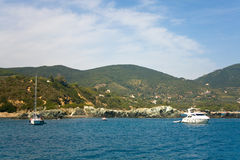 Lacona Bay, Elba Island Stock Images